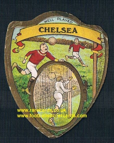 1900s Chelsea Edwardian Baines football card
